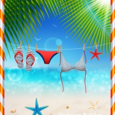 Summer illustrator vector Graphics