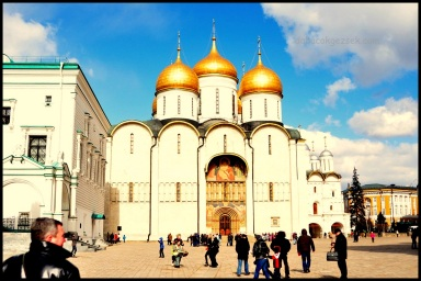 DORMİTİON CATHEDRAL İN MOSKOW