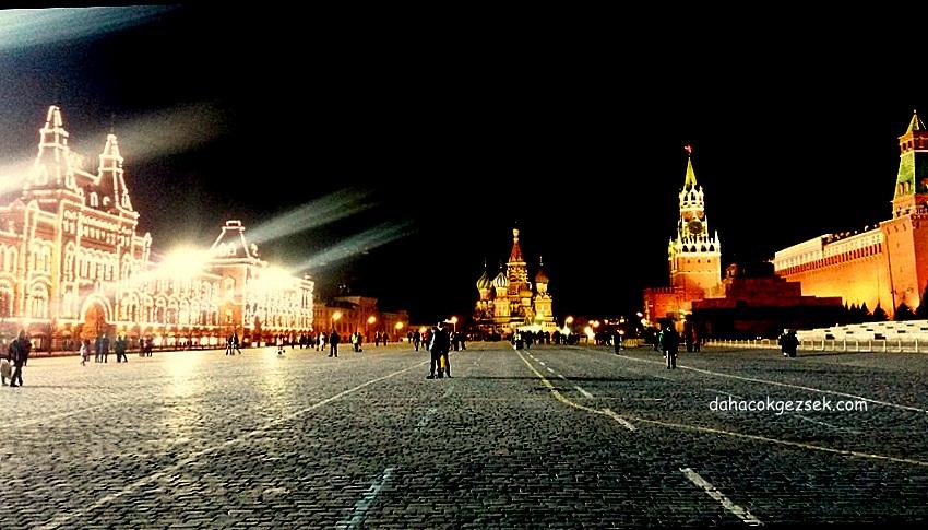 kremlin meydan görüntüsü